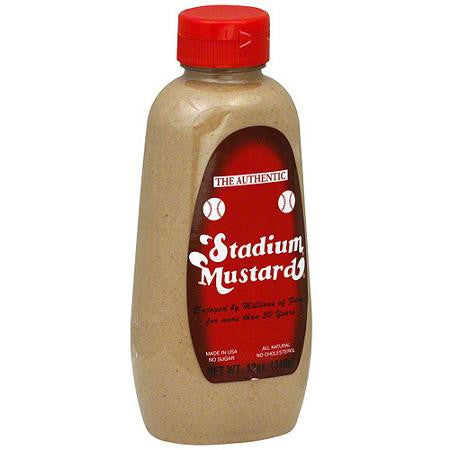 Stadium Mustard, 12 oz (Pack of 12)