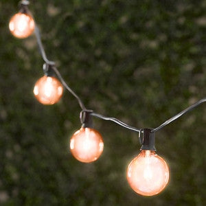 Amber Party String Lights (25ft./25 Sockets)