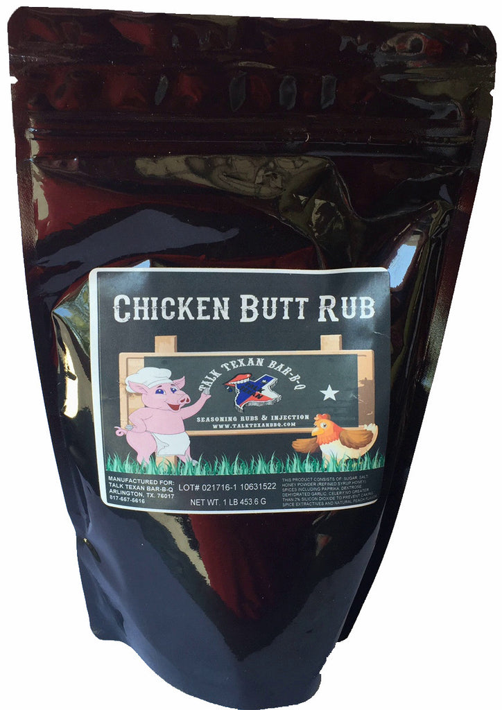 Talk Texan Chicken-Butt Rub