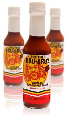 Brother Bru Bru's African Hot Sauce (5 FL.OZ. / 147 ml)