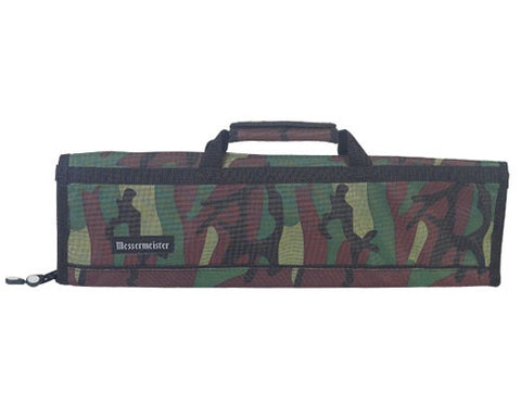 Messermeister Camoflauge 8 Slot Knife Bag