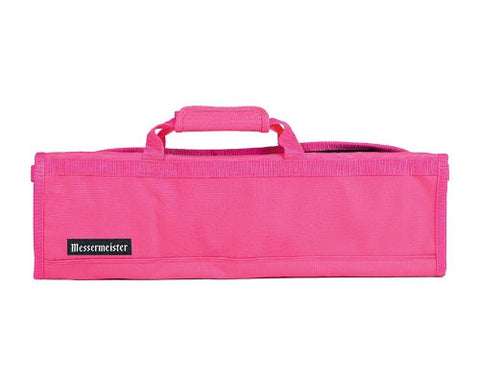 Messermeister Hot Pink 8 Slot Knife Bag