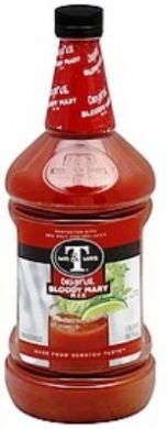 Mr. & Mrs. T Horseradish Blend Bloody Mary Mix 33.8 ounce bottle