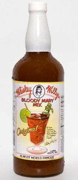Whiskey Willy's Original Bloody Mary Mix 32 ounce bottle