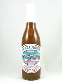 Crazy Jerry's Backfire X Hot Oyster Sauce 13oz