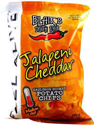Blair's Jalapeno Cheddar Potato Chips