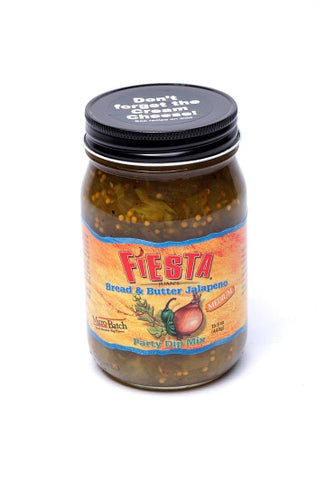Fiesta Juan's Bread and Butter Jalapeno Party Dip Mix Case of 6