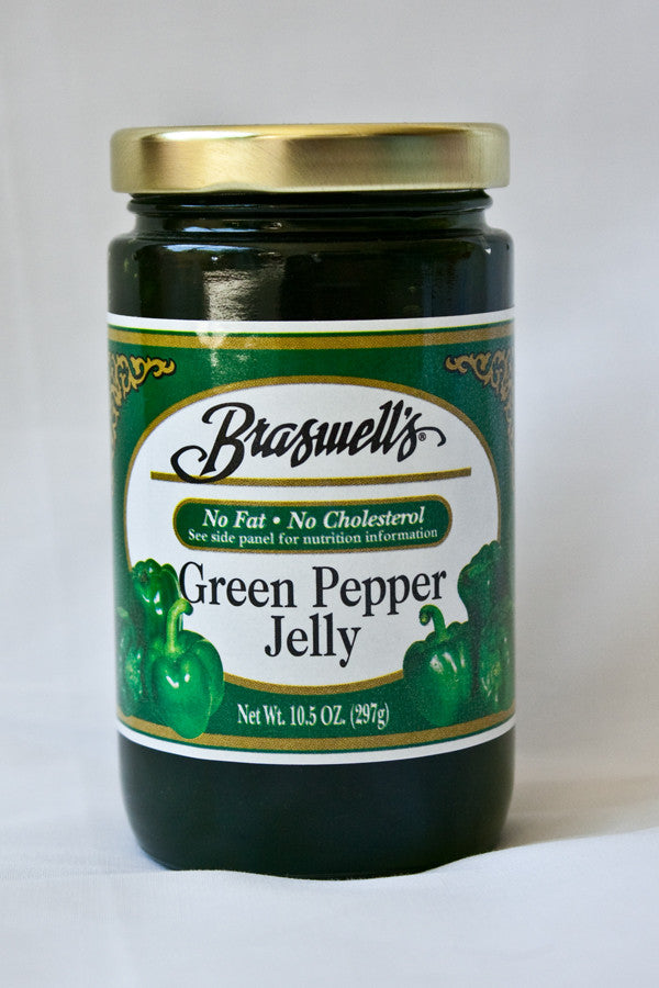 Braswell's Green Pepper Jelly, 10.5 oz