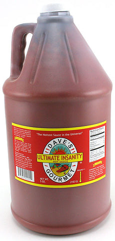 Dave's Ultimate Insanity Sauce - Hot Sauce Gallon