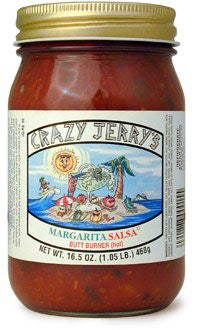 Crazy Jerry's Margarita No Sweat Salsa