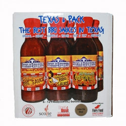 Sucklebuster Texas 6 Pack BBQ Sauces