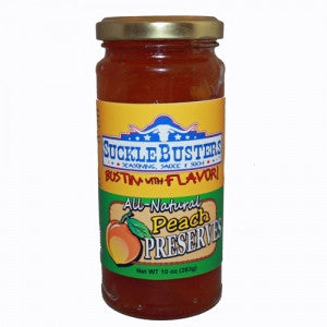 Sucklebusters Peach Preserves Pepper Jelly