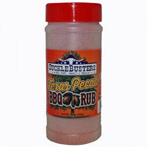 Sucklebusters Texas Pecan BBQ Rub 14.50 oz