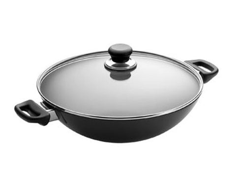 Scanpan Classic 12 3/4 in. Covered Chef/Wok Pan