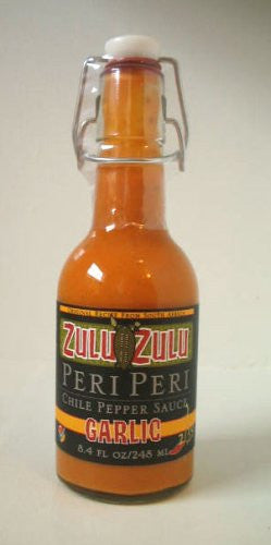 Zulu Zulu Garlic Peri Hot Sauce