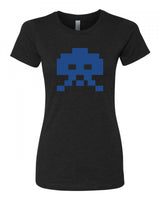 8-bit Alien - T-Shirt - Women - Black