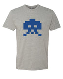 8-bit Alien - T-Shirt - Men - Gray