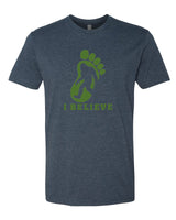 I Believe in BigFoot - T-Shirt - Men - Navy