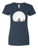 Cat's Love - T-Shirt - Women - Navy
