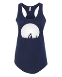 Cat's Love - Racerback - Women - Navy