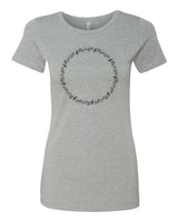It's the Circle of Music - T-Shirt - Women - Gray