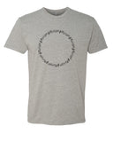 It's the Circle of Music - T-Shirt - Men - Gray