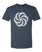 Crop Circle Milk Hill - T-Shirt - Men - Navy