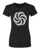 Crop Circle Milk Hill - T-Shirt - Women - Black