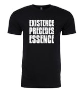 Existence Precedes Essence - T-Shirt - Men - Black