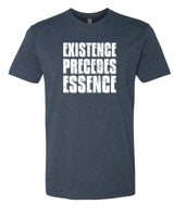 Existence Precedes Essence - T-Shirt - Men - Navy