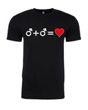 Love who you Love - T-Shirt - Men - Black