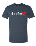 Love who you Love - T-Shirt - Men - Navy