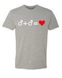 Love who you Love - T-Shirt - Women - Gray