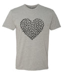 Heart of Dogs - T-Shirt - Men - Gray
