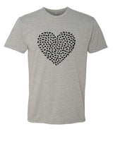 Heart of Cats - T-Shirt - Men - Gray
