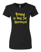 Training to hunt for Horcruxes - T-Shirt - Women - Black