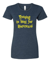 Training to hunt for Horcruxes - T-Shirt - Women - Navy