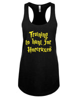 Training to hunt for Horcruxes - Racerback - Women - Black