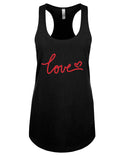 Love - Racerback - Women - Black