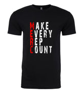 Make Every Rep Count - T-Shirt - Men - Black