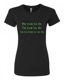 Under Pressure! - T-Shirt - Women - Black