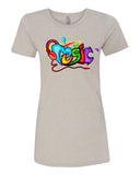 The Color of Music - T-Shirt - Women - Light Cream