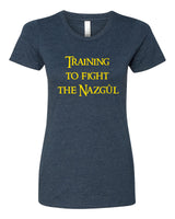 Training to fight the Nazgul - T-Shirt - Women - Navy