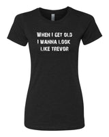 Young Trevor, Old Trevor - T-Shirt - Women - Black