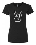 Show me your horns! - T-Shirt - Women - Black