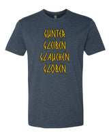 Gunter Gleiben Glouchen Globen. - Rock of Ages - T-Shirt- Men - Navy