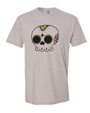 Calavera Redonda - T-Shirt - Men - Light Cream