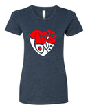 True Love - T-Shirt - Women - Navy