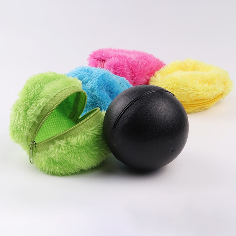 Anti Dust Automatic Rolling Ball for Pets