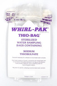 Bag Whirl Pak THIO dosed 100ml, Sterile